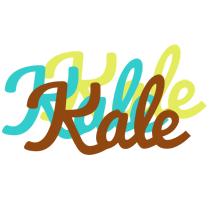 Kale cupcake logo