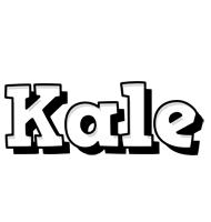 Kale snowing logo