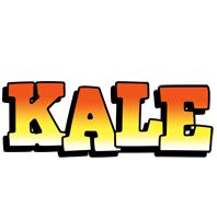 Kale sunset logo