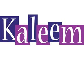 Kaleem autumn logo