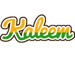 Kaleem banana logo