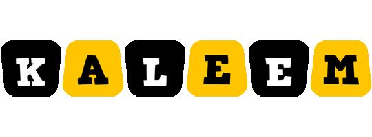 Kaleem boots logo