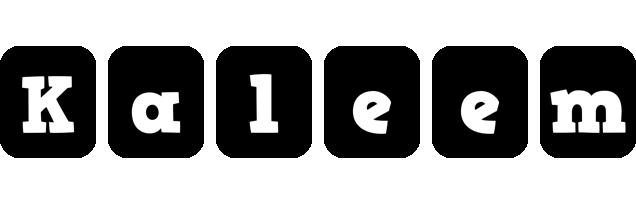 Kaleem box logo