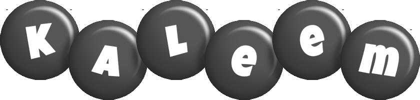 Kaleem candy-black logo