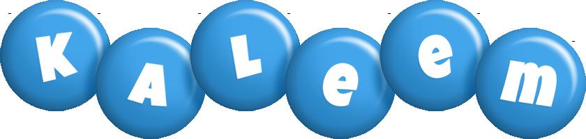 Kaleem candy-blue logo