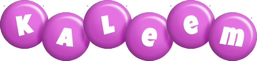 Kaleem candy-purple logo