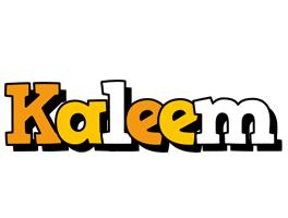 Kaleem cartoon logo