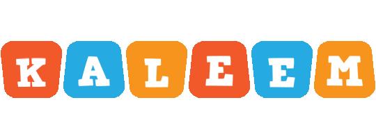 Kaleem comics logo