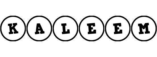 Kaleem handy logo