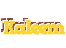 Kaleem hotcup logo