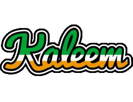 Kaleem ireland logo