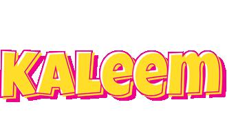 Kaleem kaboom logo