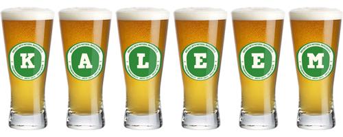 Kaleem lager logo