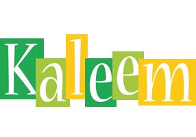 Kaleem lemonade logo
