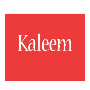 Kaleem love logo