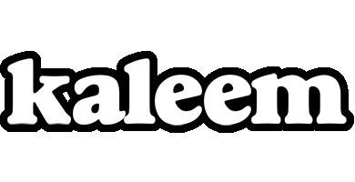 Kaleem panda logo