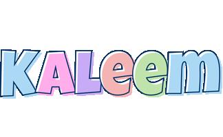Kaleem pastel logo