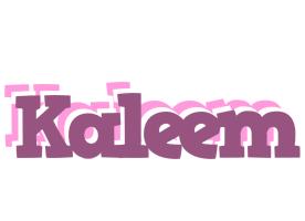 Kaleem relaxing logo