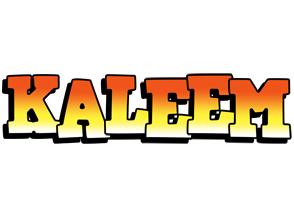 Kaleem sunset logo