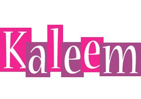 Kaleem whine logo