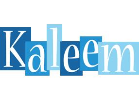 Kaleem winter logo
