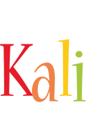 Kali birthday logo