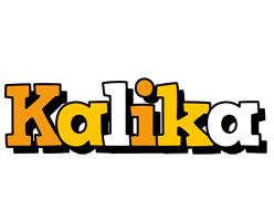 Kalika cartoon logo