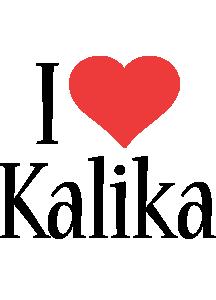 Kalika i-love logo