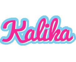 Kalika popstar logo