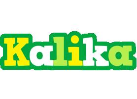 Kalika soccer logo