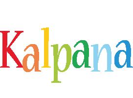 Kalpana birthday logo