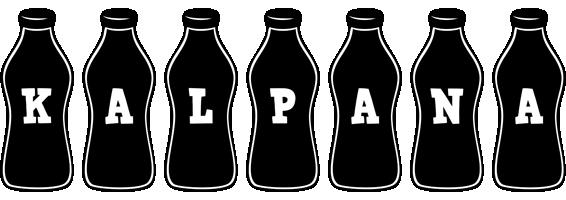 Kalpana bottle logo