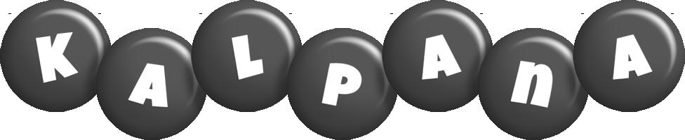Kalpana candy-black logo