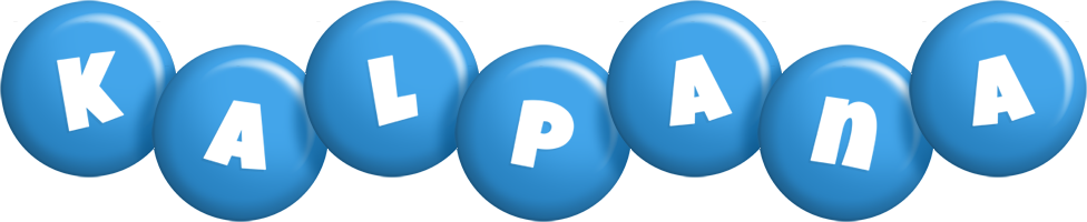 Kalpana candy-blue logo