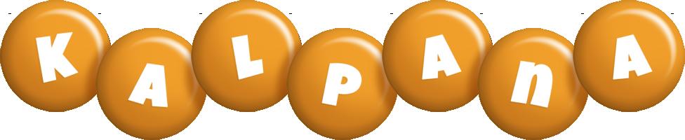 Kalpana candy-orange logo