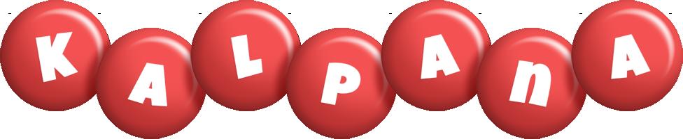 Kalpana candy-red logo