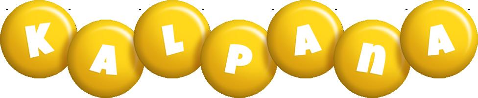 Kalpana candy-yellow logo
