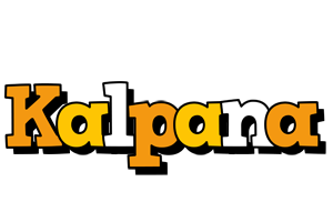 Kalpana cartoon logo