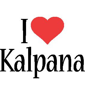 Kalpana i-love logo
