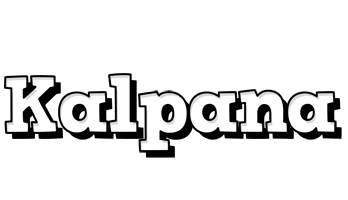 Kalpana snowing logo