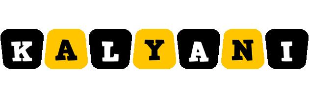 Kalyani boots logo