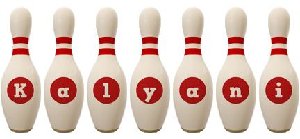 Kalyani bowling-pin logo