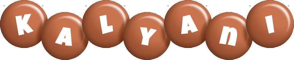 Kalyani candy-brown logo