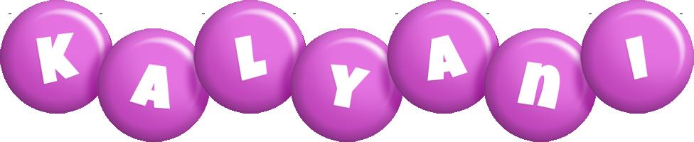 Kalyani candy-purple logo