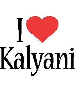 Kalyani i-love logo
