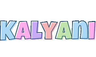 Kalyani pastel logo