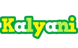 Kalyani soccer logo