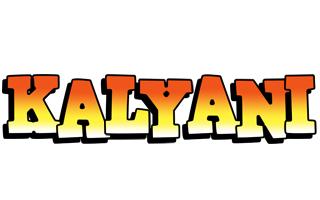 Kalyani sunset logo