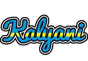 Kalyani sweden logo