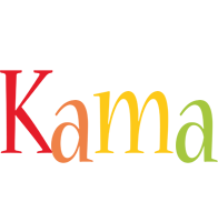 Kama birthday logo
